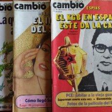 Coleccionismo de Revista Cambio 16: CAMBIO 16-1980-GARMONAR-AGUSTIN GOMEZ-ARCOS-SALVADOR RUIZ MARTINEZ-JOHN LENNON-LOS SEISES-MINI INNOC. Lote 112818099