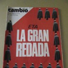 Coleccionismo de Revista Cambio 16: CAMBIO 16 ABRIL 1976 Nº 228. Lote 114317867