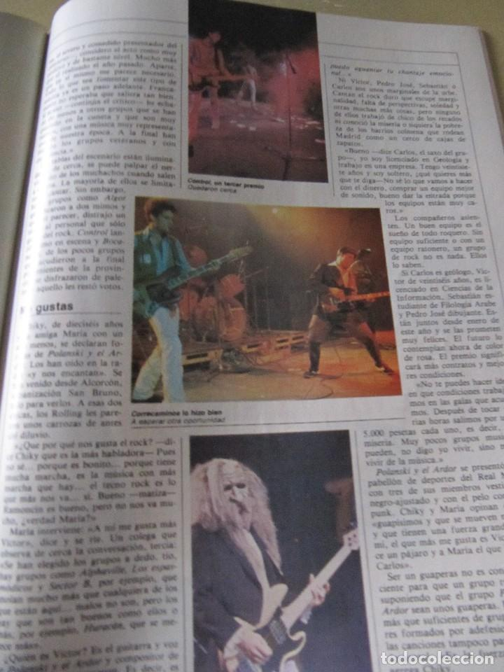 Coleccionismo de Revista Cambio 16: CAMBIO 16 OCTUBRE 1982 EXTRA VINO MURILLO MOVIDA MADRILEÑA ALASKA (FANGORIA) - Foto 9 - 114318191