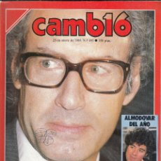 Coleccionismo de Revista Cambio 16: REVISTA CAMBIO 16 Nº 906. EL PSOE QUIERE INVESTIGA A BOYER. ALMODOVAR. MANUEL FRAGA.. Lote 119914291