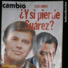 Coleccionismo de Revista Cambio 16: F1 CAMBIO 16 Nº 371 AÑO 1979 ELECCIONES,Y SI PIERDE SUAREZ?. Lote 123415931