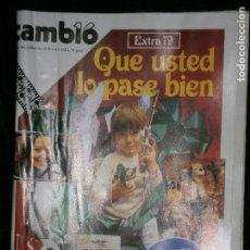 Coleccionismo de Revista Cambio 16: F1 CAMBIO 16 Nº 368 AÑO 1978 QUE USTED LO PASE BIEN.. Lote 123419491