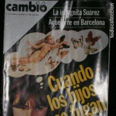 Coleccionismo de Revista Cambio 16: F1 CAMBIO 16 Nº 367 AÑO 1978 LA INCOGNITA SUAREZ AQUELARRE EN BARCELONA.. Lote 123420847