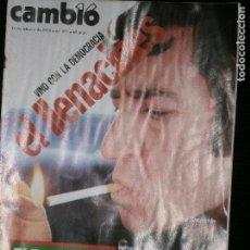 Coleccionismo de Revista Cambio 16: F1 CAMBIO 16 Nº 375 AÑO 1979 VINO CON LA DEMOCRACIA EL LLENA CINES.. Lote 123422167