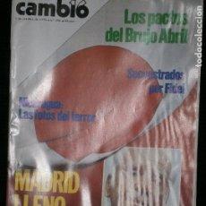 Coleccionismo de Revista Cambio 16: F1 CAMBIO 16 Nº 356 AÑO 1978 SECUESTRADOS POR FIDEL.NICARAGUA LAS FOTOS DEL TERROR.. Lote 123423423