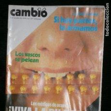 Coleccionismo de Revista Cambio 16: F1 CAMBIO 16 Nº 357 AÑO 1978 ALFONSO GUERRA SI HAY PACTOS LA ARMAMOS. Lote 123424655