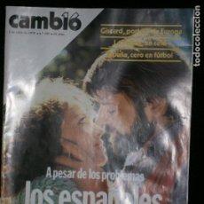 Coleccionismo de Revista Cambio 16: F1 CAMBIO 16 Nº 343 AÑO 1978 A PESAR DE LOS PROBLEMAS LOS ESPAÑOLES SE AMAN.. Lote 123425195