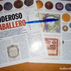 Coleccionismo de Revista Cambio 16: RECORTE PRENSA : HISTORIA DEL DINERO. CAMBIO 16, MARZO 1995. Lote 125045107