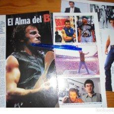 Coleccionismo de Revista Cambio 16: RECORTE PRENSA : EL ALMA DEL BOSS ( BRUCE SPRINGSTEEN ). CAMBIO 16, MARZO 1995. Lote 125045287