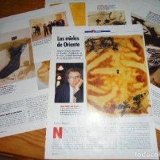 Coleccionismo de Revista Cambio 16: RECORTE PRENSA : ANTONI TAPIES, EXPOSICION EN SEVILLA. CAMBIO 16, MARZO 1992. Lote 125212571