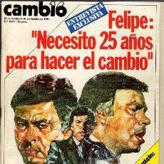 Coleccionismo de Revista Cambio 16: REVISTA - CAMBIO16 - Nº 674. Lote 130270218