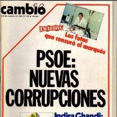 Coleccionismo de Revista Cambio 16: REVISTA - CAMBIO16 - Nº 676. Lote 130270466