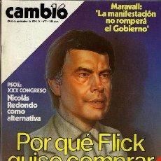 Coleccionismo de Revista Cambio 16: REVISTA - CAMBIO16 - Nº 677. Lote 130270606