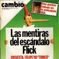 Coleccionismo de Revista Cambio 16: REVISTA - CAMBIO16 - Nº 678. Lote 130270682