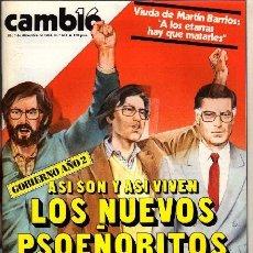 Coleccionismo de Revista Cambio 16: REVISTA - CAMBIO16 - Nº 680. Lote 130270822