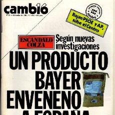 Coleccionismo de Revista Cambio 16: REVISTA - CAMBIO16 - Nº 681. Lote 130270906