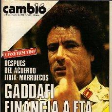 Coleccionismo de Revista Cambio 16: REVISTA - CAMBIO16 - Nº 682. Lote 130270950