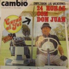 Coleccionismo de Revista Cambio 16: REVISTA CAMBIO 16 Nº398 AÑO 1979 REPORTAJE DEL GRUPO TRIANA. Lote 132426438