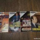 Coleccionismo de Revista Cambio 16: LOYE DE 4 REVISTAS CAMBIO 16 - N° 554,627,650,696. AÑOS 80. Lote 133358790