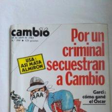 Coleccionismo de Revista Cambio 16: REVISTA CAMBIO 16 N° 594 ABRIL 1983. Lote 136007210