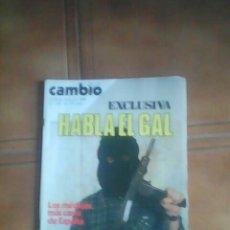 Coleccionismo de Revista Cambio 16: REVISTA CAMBIO 16.. Lote 136490226