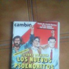Coleccionismo de Revista Cambio 16: REVISTA CAMBIO 16.. Lote 136490528