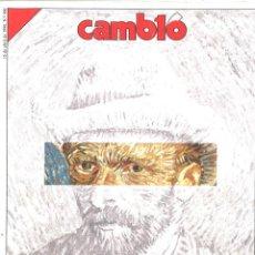 Coleccionismo de Revista Cambio 16: CAMBIO 16. VAN GOGH. ABRIL 1990. NÚMERO 960. Lote 136521502