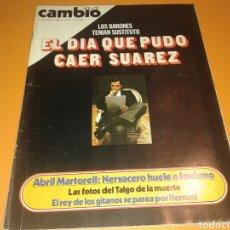 Coleccionismo de Revista Cambio 16: REVISTA CAMBIO 16. EL DIA QUE PUDO CAER SUAREZ. N, 451 JUOIO 1980.. Lote 136787394