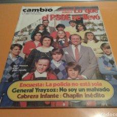 Coleccionismo de Revista Cambio 16: REVISTA CAMBIO 16, LO QUE EL PSOE SE LLEVO. N ° 588 , MARZO 1983. Lote 136794860