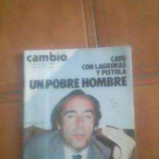 Coleccionismo de Revista Cambio 16: REVISTA.. Lote 137186717