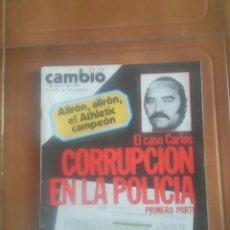 Coleccionismo de Revista Cambio 16: REVISTA.. Lote 137186909