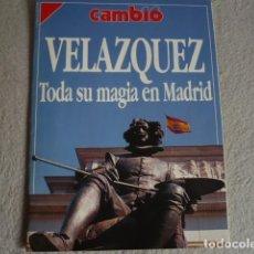 Coleccionismo de Revista Cambio 16: CAMBIO 16 ESPECIAL VELÁZQUEZ EXPOSICIÓN EN MADRID AÑO 1990. Lote 137200498