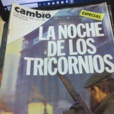 Coleccionismo de Revista Cambio 16: REVISTA CAMBIO 16 Nº 483 2 DE MARZO 1981. Lote 140580678