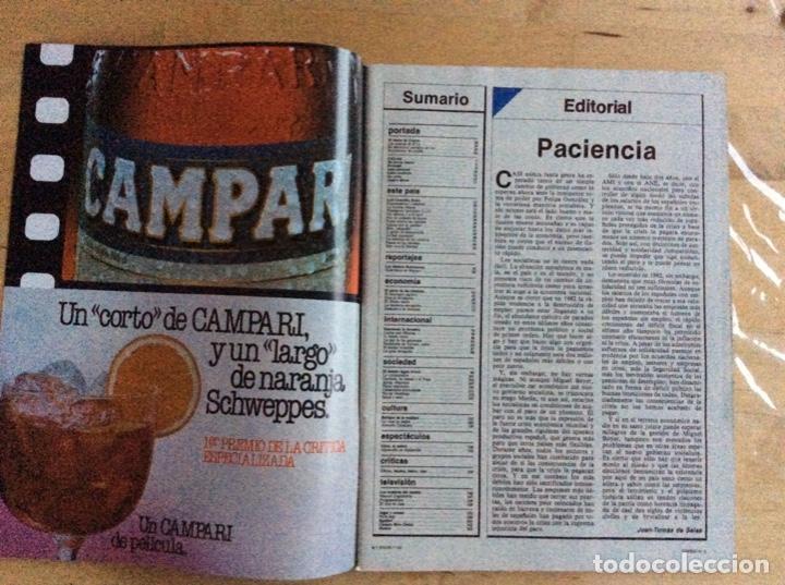 Coleccionismo de Revista Cambio 16: ALFONSO GUERRA Cambio16 .Numero 574.Año 1982 - Foto 3 - 140763906