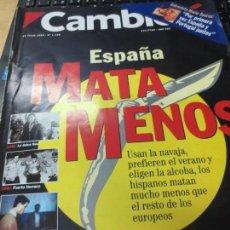 Coleccionismo de Revista Cambio 16: REVISTA CAMBIO 16 Nº 1130 19 JULIO 1993. Lote 140876166