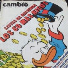Coleccionismo de Revista Cambio 16: REVISTA CAMBIO 16 Nº 437 20 ABRIL 1980. Lote 141178822