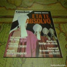 Coleccionismo de Revista Cambio 16: CAMBIO 16. ABRIL DE 1981 Nº 489. . Lote 141458610
