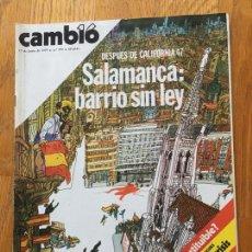 Coleccionismo de Revista Cambio 16: REVISTA CAMBIO 16, 17 JUNIO 1979 NUMERO 393. Lote 219183828