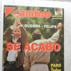 Coleccionismo de Revista Cambio 16: CAMBIO 16 REVISTA Nº 1110 - MARZO 1993 - PARO, TODOS CONTRA SOLCHAGA . Lote 143331622