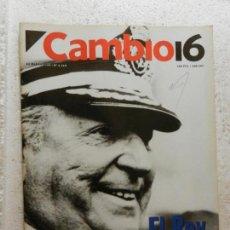 Coleccionismo de Revista Cambio 16: CAMBIO 16 REVISTA Nº 1113 - MARZO 1993 - JOSE BARRIONUEVO, NO HAY SOLUCIONES MILAGROSAS . Lote 143331846