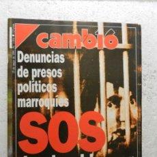 Coleccionismo de Revista Cambio 16: CAMBIO 16 REVISTA Nº 1016 - MAYO 1991 - LAS MEJORES FOTOS DE LOS ATRACOS A BANCOS EN ESPAÑA. Lote 143332278