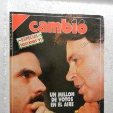 Coleccionismo de Revista Cambio 16: CAMBIO 16 REVISTA Nº 1017 - MAYO 1991 - ESPECIAL ELECCIONES 91 - UN MILLÓN DE VOTOS EN EL AIRE. Lote 143337330