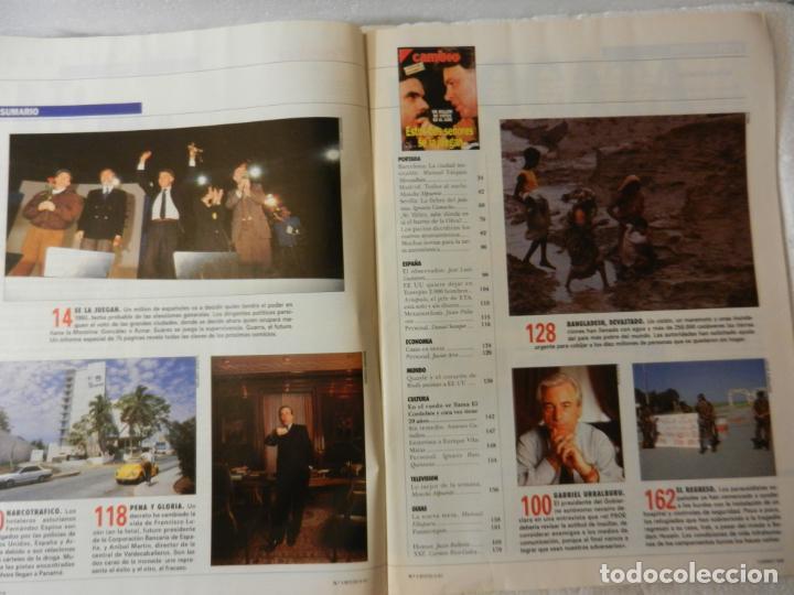Coleccionismo de Revista Cambio 16: CAMBIO 16 REVISTA Nº 1017 - MAYO 1991 - ESPECIAL ELECCIONES 91 - UN MILLÓN DE VOTOS EN EL AIRE - Foto 3 - 143337330