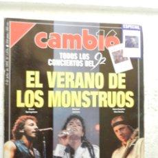 Coleccionismo de Revista Cambio 16: CAMBIO 16 REVISTA Nº 1076 - JULIO 1992 - EL VERANO DE LOS MONSTRUOS, CONCIERTOS DEL VERANO 92. Lote 143338046