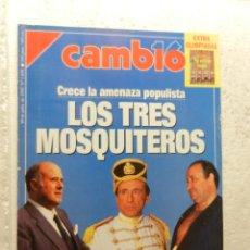 Coleccionismo de Revista Cambio 16: CAMBIO 16 REVISTA Nº 1078 - JULIO 1992 - AZNAR VERSUS CONDE. Lote 143338774