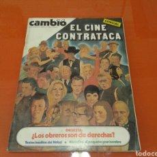 Coleccionismo de Revista Cambio 16: REVISTA CAMBIO 16, ESPECIAL,EL CINE CONTRATACA. N° 464 OCTUBRE DE 1980. Lote 143391258