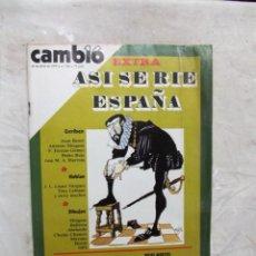 Coleccionismo de Revista Cambio 16: REVISTA CAMBIO 16 - ASI SE RIE ESPAÑA Nº 385 / 22 DE ABRIL DE 1979. Lote 143441226