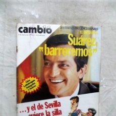 Coleccionismo de Revista Cambio 16: REVISTA CAMBIO 16 - SUAREZ : BARREREMOS Nº 378 / 4 DE MARZO DE 1979. Lote 143447230
