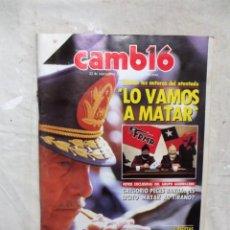 Coleccionismo de Revista Cambio 16: REVISTA CAMBIO 16 - LO VAMOS A MATAR Nº 773 / 22 DE SEPTIEMBRE DE 1986. Lote 143448446
