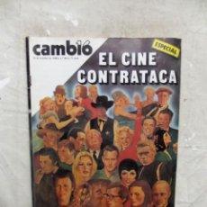 Coleccionismo de Revista Cambio 16: REVISTA CAMBIO 16 - ESPECIAL EL CINE CONTRATACA Nº 464 / 26 DE OCTUBRE DE 1980. Lote 143481354